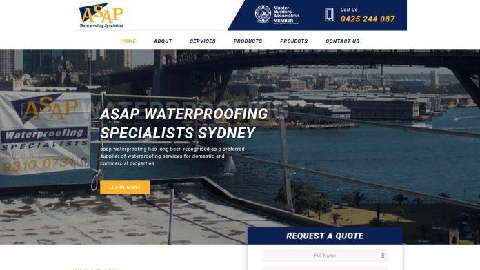 asap Water Proofing | Christom web design noosa